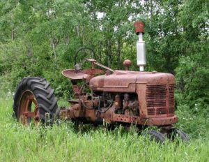 сдать Трактор на металлолом